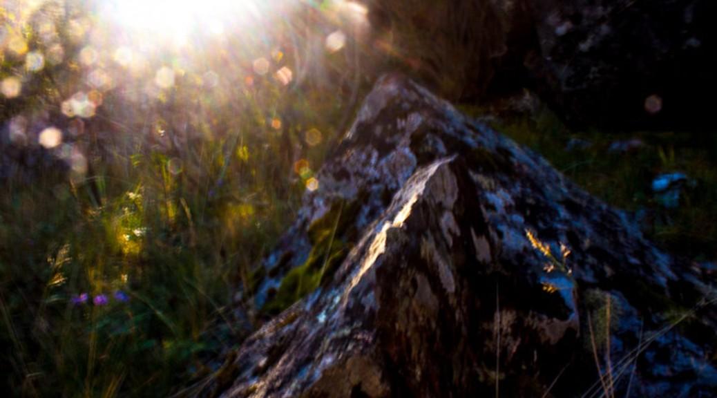 Anderswelt Lichtstimmung für schamanische Sitzung