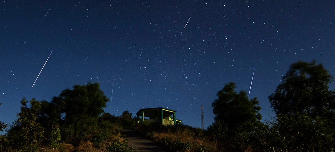 Die Geminiden: Sternschuppen als Gelegenheit für ein Wunsch-Ritual